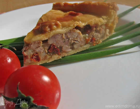 Английский мясной пирог