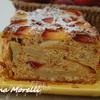 Персиковый кекс с амаретти из Ломбардии