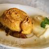 Шотландский пирог с ревенем