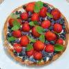 Летний тарт с ягодами