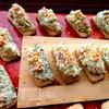 Сырно-творожная закуска на печенье