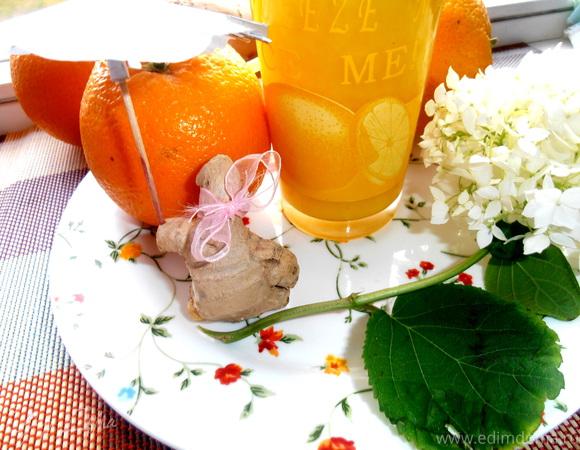 """""""Фанта"""" с имбирем и мятой (""""Прохладительные напитки"""")"""