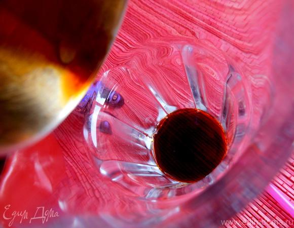"""Черничный коктейль с бальзамом """"Пятница!!!"""" (""""Прохладительные напитки"""")"""