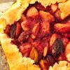 Персиково-сливовая галета