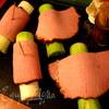 Рулетики-букетики под сыром Джюгас