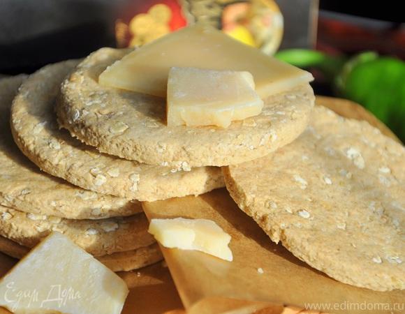 Шотландское овсяное печенье с сыром Джюгас