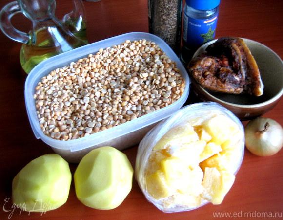 гороховый суп с тыквой рецепт с фото