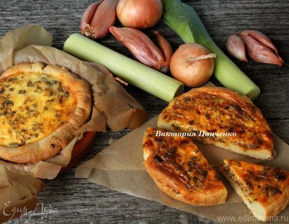 Луковые мини-пироги (по мотивам Амишского лукового пирога)