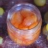 Варенье из белого винограда с ликером