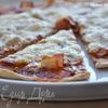 Пицца из цельнозерновой муки с беконом
