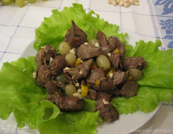 Салат с печенью — 32 рецепта с фото пошагово. Как ...