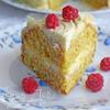 Торт из тыквы с кокосом и миндалем