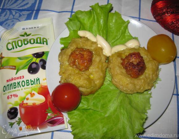 """Картофельные """"гнездышки"""""""