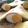 Пирог с яйцами и грибами