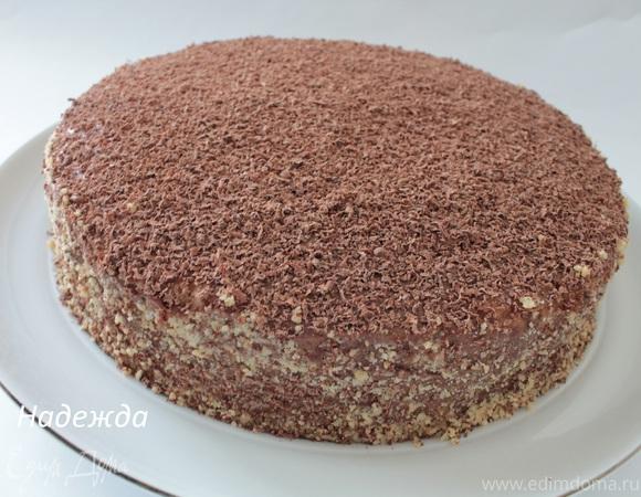 """Мой """"Пражский""""торт"""