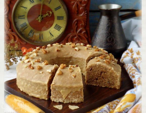 Кекс кофейно-ореховый