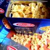 Теплый салат с макаронами (Pastas salati)