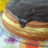 Бостонский пирог с ванильным заварным кремом