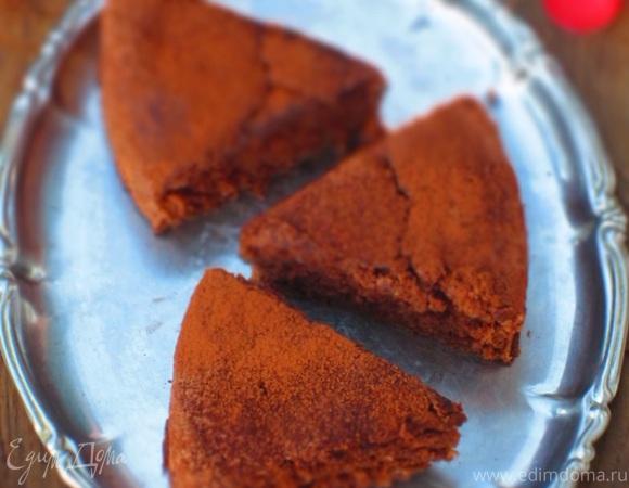 Шоколадный кекс на белках