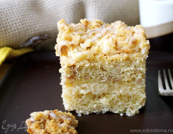 """Банановый торт """"Сладкая Крошка"""" (Banana Crumb Cake)"""