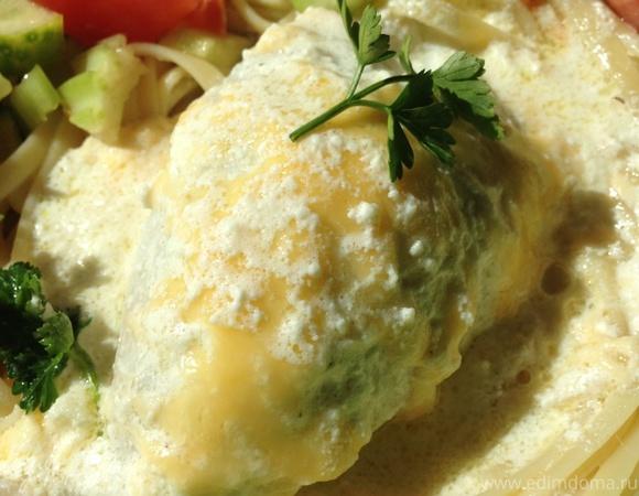 Кальмары в сливочном соусе рецепт с фото