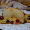 Бретонский пирог с ягодами