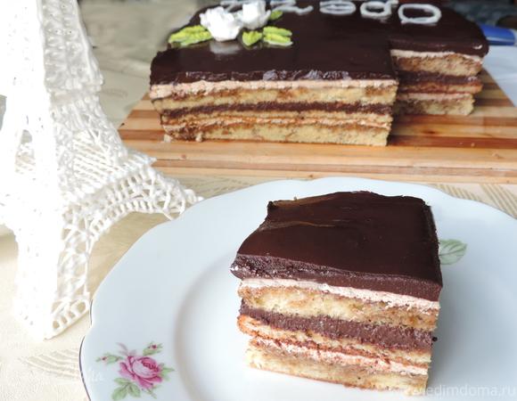 Торт опера классический рецепт пошагово