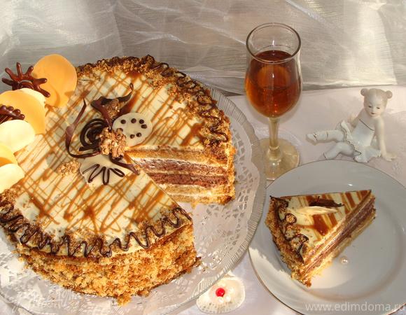 """Торт """" Кокетка"""""""