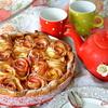"""Пирог """"Яблочные розы"""""""
