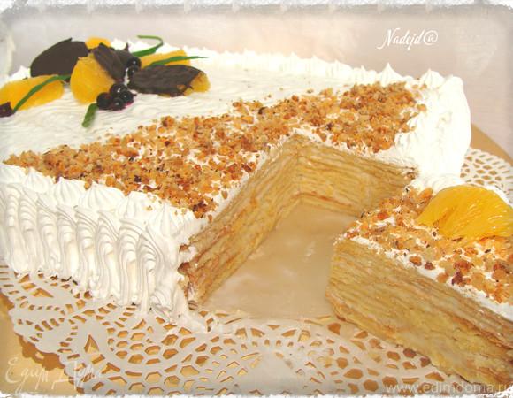 """Торт """"Наполеон"""" классический с изюминкой"""