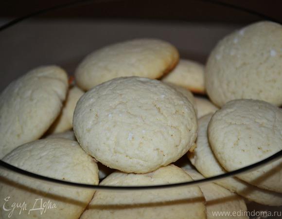 Нежное лимонное печенье