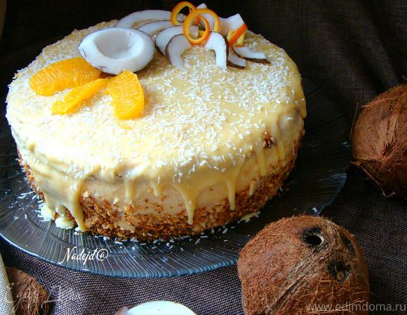 """Торт """"Мое Рафаэлло"""""""
