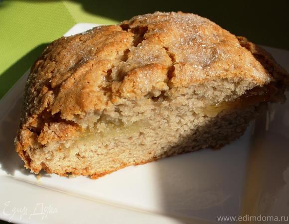 Постный пирог с хрустящей корочкой