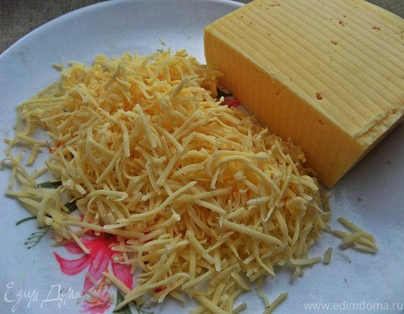 Закусочные колобки из спагетти