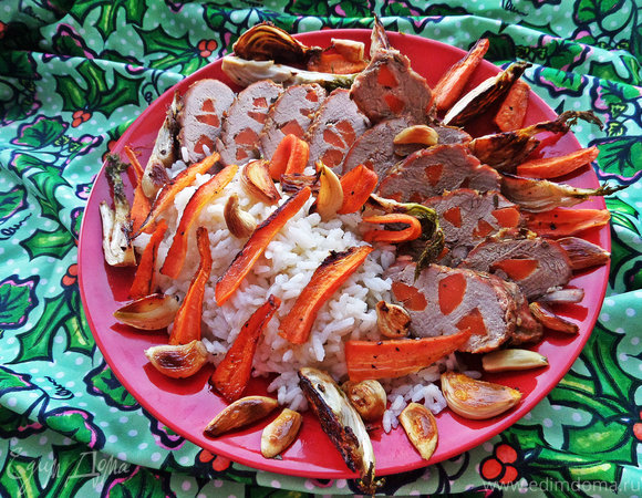 Свинина с морковкой к рису
