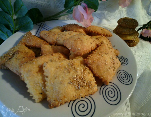 Миндально-сырное печенье