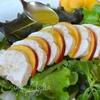 Летний салат с куриной грудкой и нектаринами