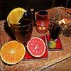 Чай пуэр с цитрусами и бальзамом
