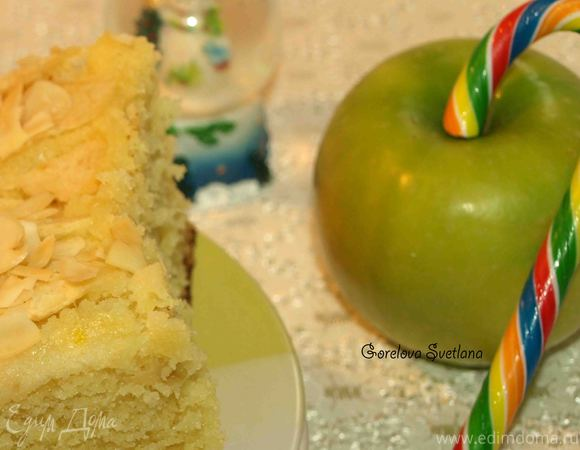 Яблочно-имбирный пирог