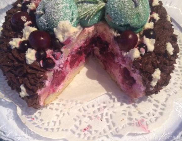Зимний вариант летнего торта