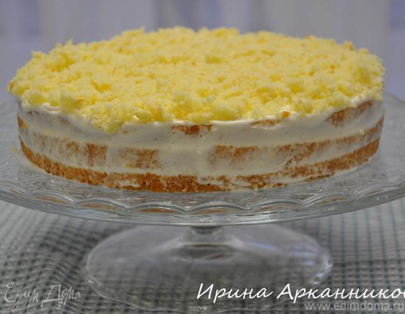 Нежный сметанный торт