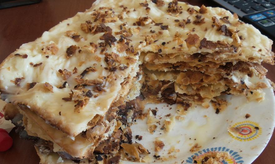 Классический торт наполеон пошаговый рецепт с фото