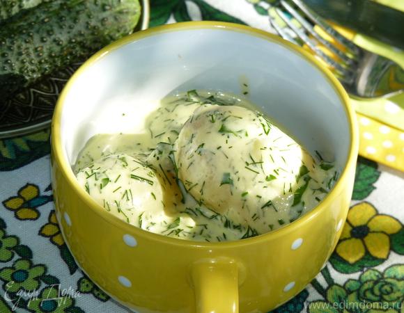 Молодой картофель по-деревенски