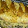 Нежный запеченный судак с начинкой