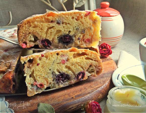 Пирог со сливой: быстро вкусно и полезно