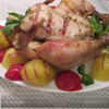 Курица с начинкой из бекона и ароматных трав