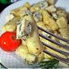 Картофельные гноччи (ньокки) с горгонзолой