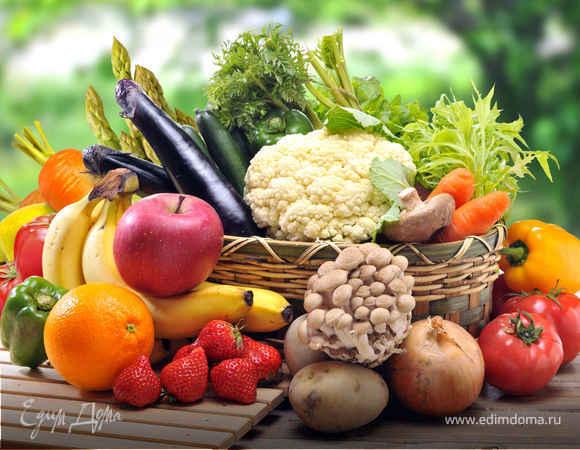Как хранить овощи и фрукты летом?