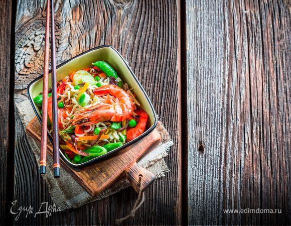 Китайская кухня: пять популярных рецептов лапши