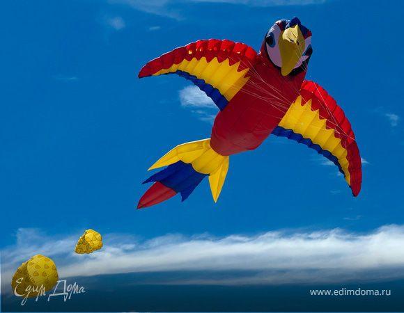 Фестиваль воздушных змеев «Пестрое небо» в «Царицыно»!